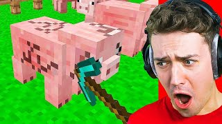 Try To Make It Through This CURSED Minecraft Video! (challenge)