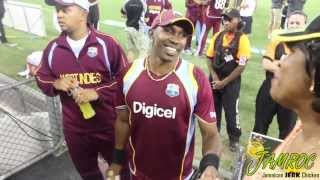 JAMROC Feeds the West Indies Cricket Team vs Australia T20 2013