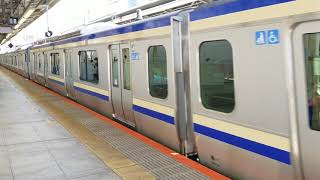 E235系1000番台横クラJ-06編成+F-11編成横浜駅発車