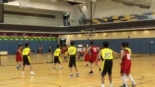 2017/02/17 梁潔華vs景天(M3)西貢小學校際籃球
