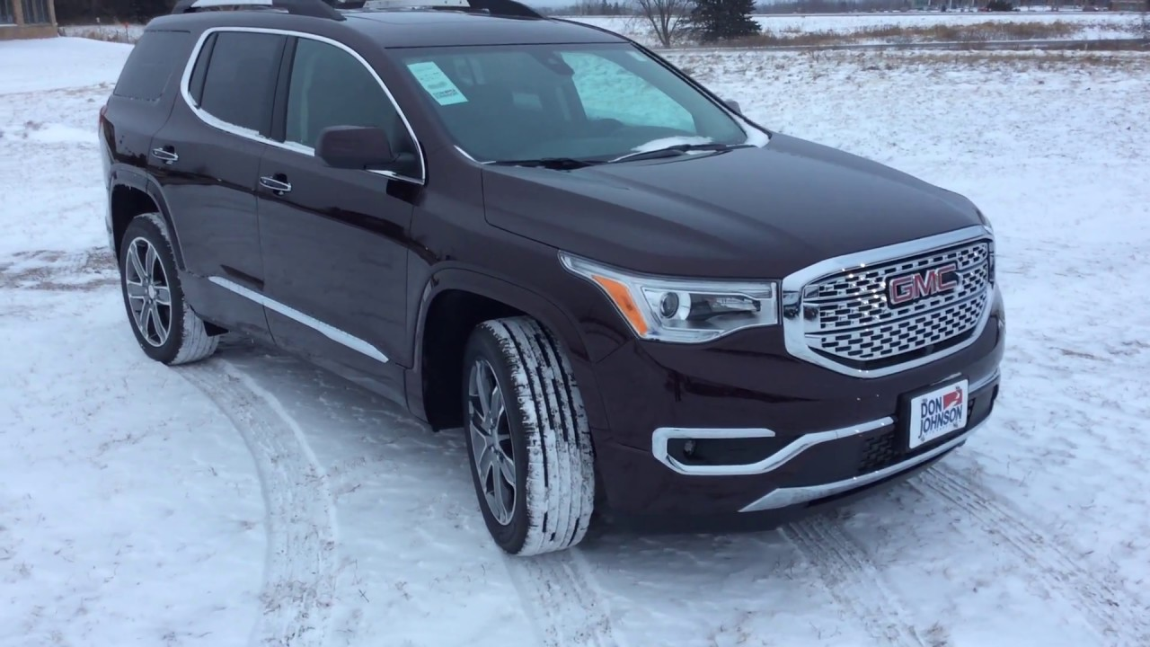 2017 Gmc Acadia At Don Johnson Motors In Rice Lake Wi