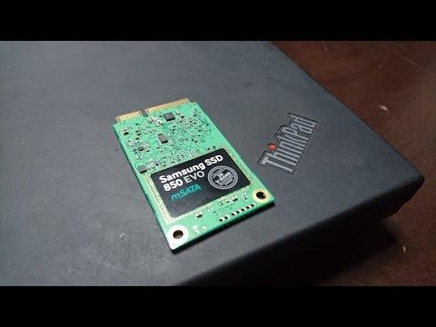 Lenovo ThinkPad T420 Upgrade: Samsung 850 EVO mSATA SSD