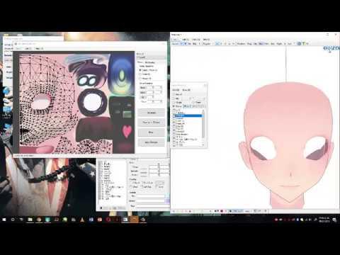 【MMD/PMX Editor TUTORIAL】UV Mapping Plugin