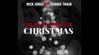 Nick Jonas Shania Twain Say All You Want For