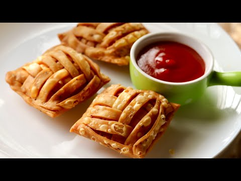 chicken mat samosa recipe aloo chicken samosa recipe ramadan special recipe iftar recipes