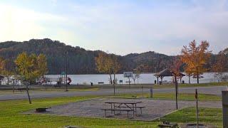 Year-round camping at Paintsville Lake State Park