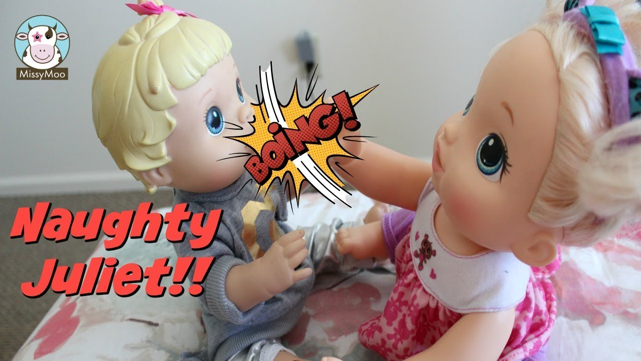 f9a560bf8bc8 Baby Alive Bailey and Juliet get in a fight! Time out? - YouTube