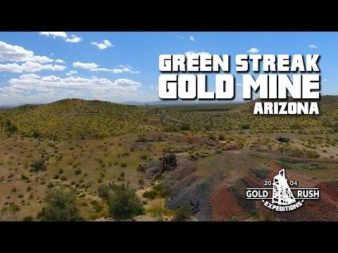 Green Streak Gold Mining Claim - Arizona - 2017