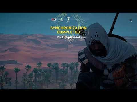 Assassin's Creed Origins Synchronize Increase Senu Perception