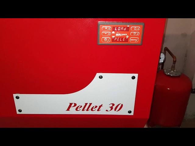 Centrala Pellet 30 - Initiere Faza pornire