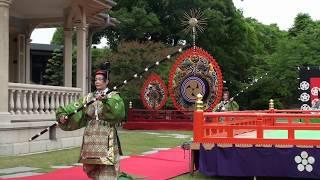 狛桙、雅楽、traditional japanese music、gagaku、美し国、三重、桑名、六華苑、2018春の舞楽会、多度雅楽会、時間 18分33秒