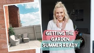 GETTING THE GARDEN READY FOR SUMMER | NEW GARDEN FURNITURE