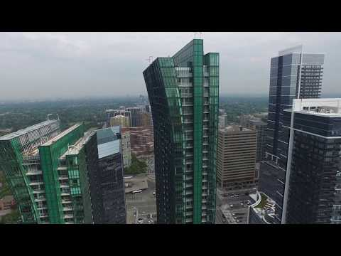 North York, Toronto from Above - 4K UHD 2160p