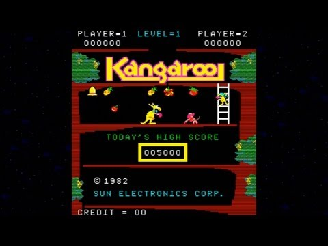 Kangaroo 1982 Sun Electronics Mame Retro Arcade Games