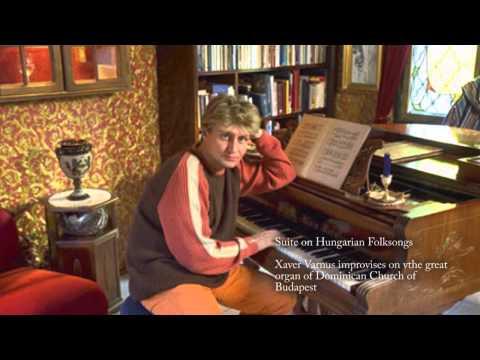 XAVER VARNUS IMPROVISES ON HUNGARIAN FOLK SONGS ON THE GREAT ORGAN OF BUDAPEST DOMINICAN CHURCH