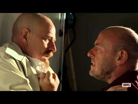 "Hank Punches Walter | Breaking Bad S05E09 ""Blood Money"""