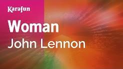 Woman - John Lennon   Karaoke Version   KaraFun