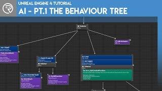 Unreal Engine 4 Tutorial - AI - Teil 1 Das Verhalten der Baum