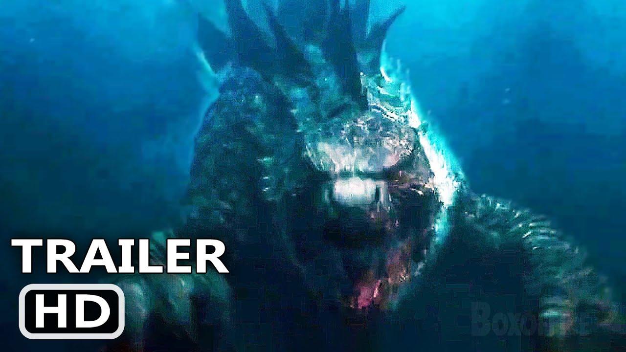 "GODZILLA VS KONG ""Luta Subaquática"""" Trailer (Novo, 2021)"