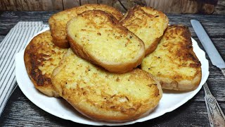Горячие бутерброды с картошкой на сковороде ! Быстрый , вкусный рецепт завтрака !