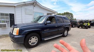 I Found a 14 Year Old Cadillac Escalade in Good Condition!!! Would You Buy This Car?