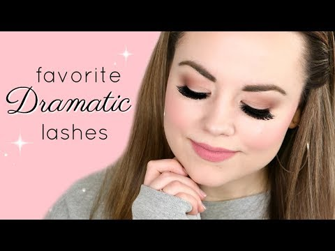 BEST DRAMATIC LASHES 2018 (Try On!)  |  Cait B