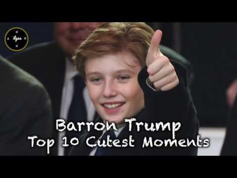 Barron Trump - Top 10 Cutest Moments (2017) - Donald Trump Family