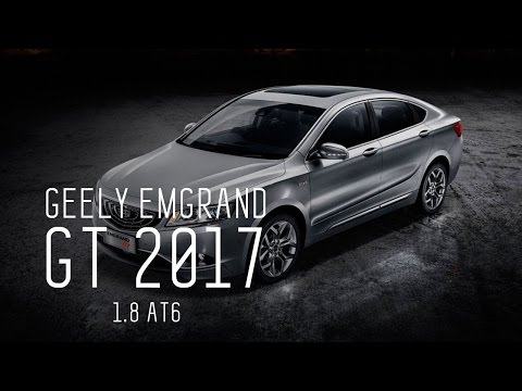 КИТАЕЦ ЗА 2М РУБ - GEELY EMGRAND GT 2017 1.8 AT6