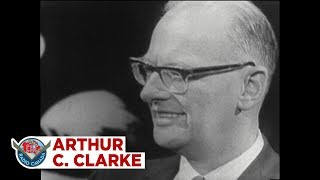 Arthur C. Clarke talks A Space Odyssey and artificial intelligence, 1968