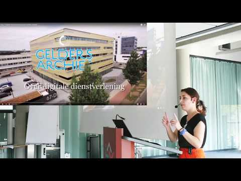 Ilse Nagelkerke - Online services at the Gelders Archief