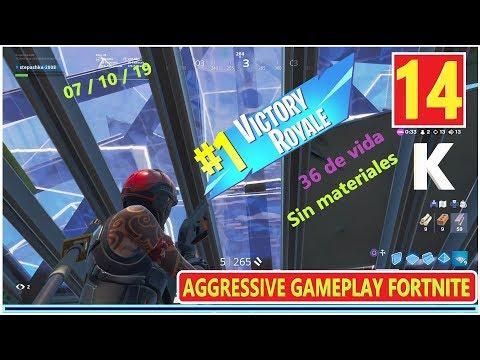 +14 KILLS / AGGRESSIVE FORTNITE GAMEPLAY / TOP1 / PS4 / 07.10.19  / ФОРТНАЙТ