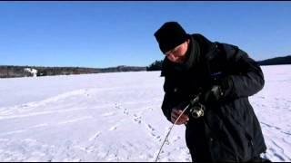 Ontario Ice Fishing - Lake Trout