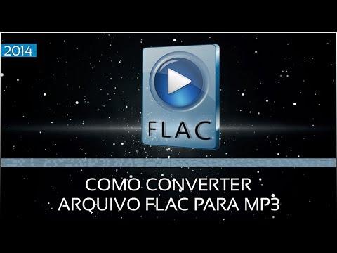 Como converter arquivos FLAC para MP3.