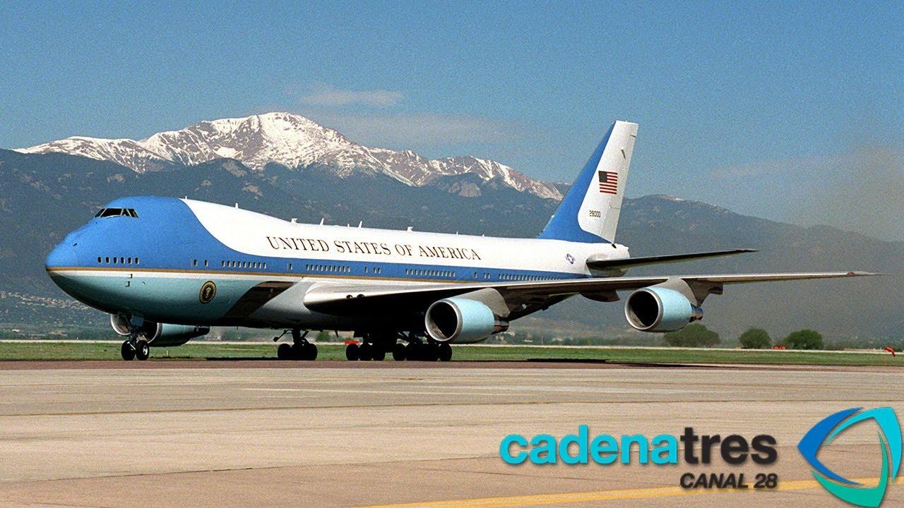 Air Force One El Avión Presidencial De Barack Obama Youtube