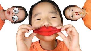 수지의 재밌는 알록달록 사탕 초콜릿 어플놀이 stories for kids about harmful sweets and candies