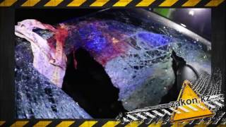 В Алматы Mercedes сбил пешехода, разорвав его на части