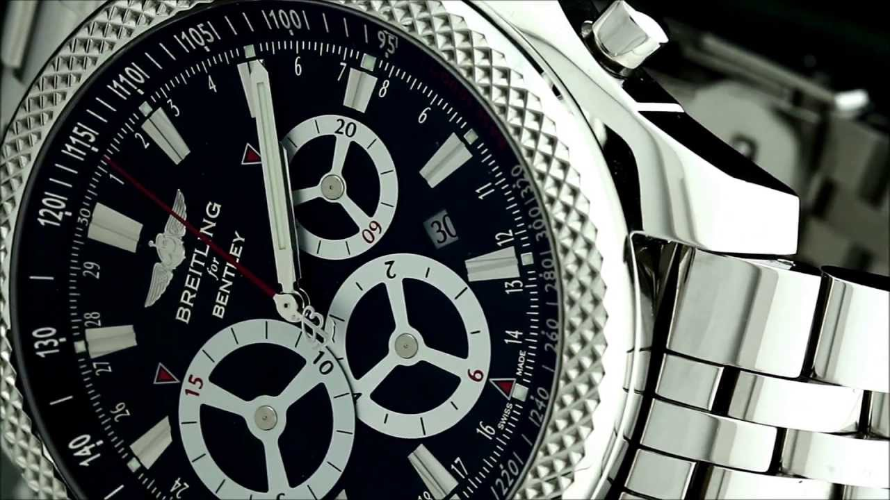 часы breitling for bentley a25366