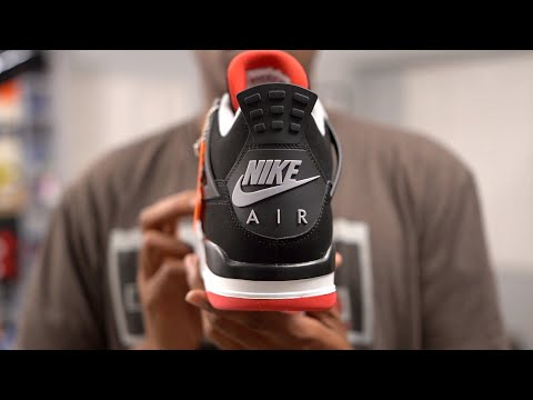 "unboxing:-air-jordan-4-""bred""-review-and-on-feet"