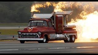 2017 Abbotsford Airshow Smoke n' Thunder Jet Truck