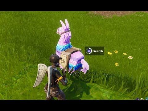 Fortnite Supply Llama LOCATIONS FOUND! How To Find Supply Llama In Fortnite (Fortnite Battle Royale)
