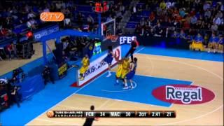 Highlights: fc barcelona regal-maccabi electra tel aviv