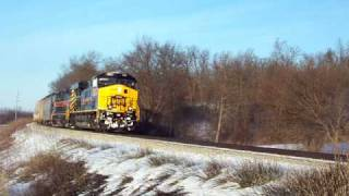 Iowa Interstate CRIC with IAIS 502 Leading