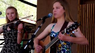 Phoebe & Harper Powell Perform One More Dollar @ Bluegrass on the Arkansas