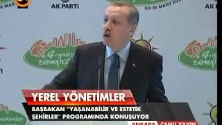 Başbakan Erdoğan 4. Yerel Yönetimler Sempozyumu konuşması