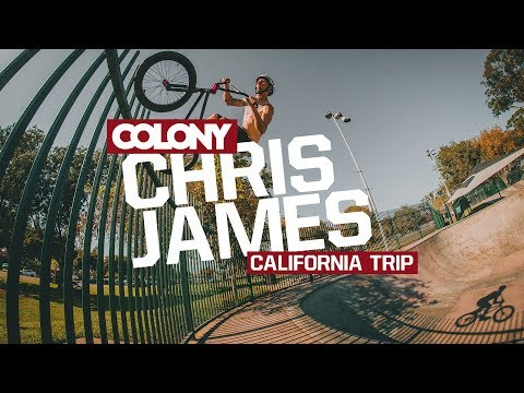 Chris James spends a couple weeks in California in between the Vans BMX Pro Cup and the Nitro Games finding as many transfers and large bowls as possible ...