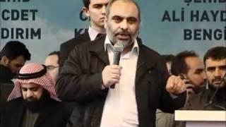 Mavi Marmara Karşılama Töreni / İHH Başkanı Bülent Yıldırım