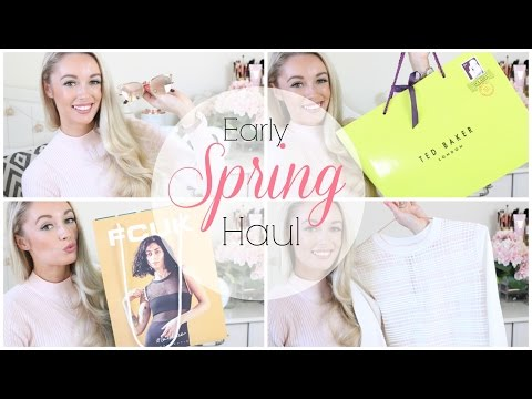 TRY ON HAUL | ASOS, French Connection, Ted Baker Pre-Spring Unboxing!  |  Fashion Mumblr