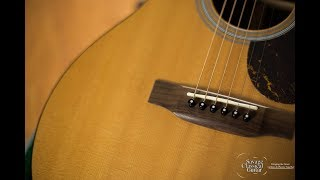Playing classical music on a steel string guitar LIVE
