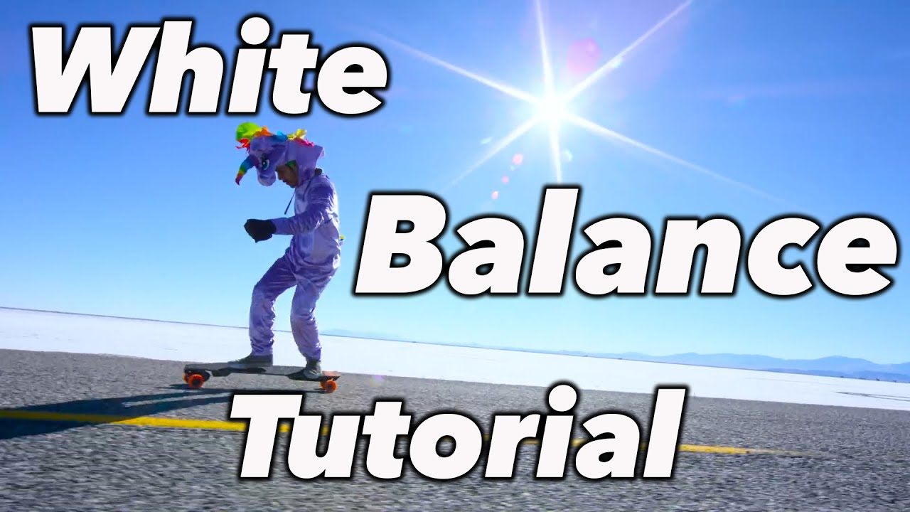 How To White Balance Color Temperature Tutorial Youtube