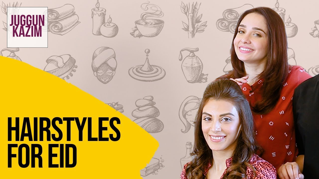 2 Quick And Easy Hairstyles | Hairdo For Party | Beauty Hacks | Beauty | Juggun Kazim - YouTube